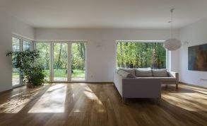 maison bioclimatique intérieur