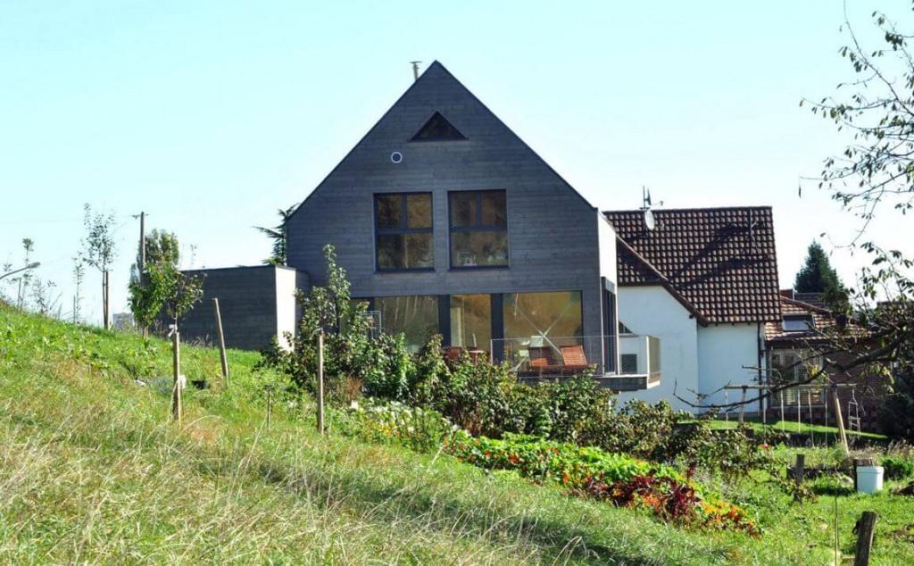 villa en bois